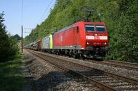 """photo d'une """"BR 185"""" prise à Heustrich-Emdthal"""