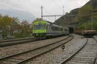 """photo d'une """"RBDe 565 721-742"""" prise à Ausserberg"""