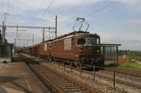 """photo d'une """"Re 4/4 161-195"""" prise à Einigen"""