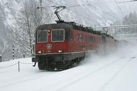 """photo d'une """"Re 620 (Re 6/6) 11605-11689"""" prise à Blausee-Mitholz"""