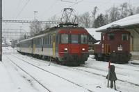 "photo d'une ""RBe 540 006-079"" prise à Nesslau-Neu St. Johann"