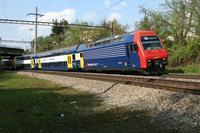 """photo d'une """"Re 450 000-114"""" prise à Glattbrugg"""