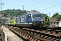 """photo d'une """"Re 465 001-018"""" prise à Luzern"""