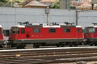 "photo d'une ""Re 420 (Re 4/4 II) 11156-11171 11173-11281 11283-11311 11313-11349 11371-11397"" prise à Bellinzona"
