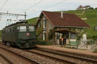 """photo d'une """"Ae 610 (Ae 6/6) 11403-11520"""" prise à Villette VD"""