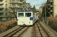 """photo d'une """"He 2/2 298"""" prise à Lausanne-Montriond"""