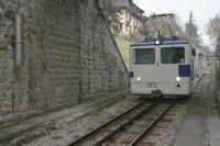 """photo d'une """"He 2/2 298"""" prise à Lausanne-Jordils"""