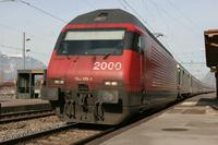 """photo d'une """"Re 460 000-118"""" prise à St-Triphon"""