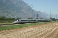 """photo d'une """"ETR 610"""" prise à Martigny"""