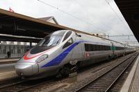 """photo d'une """"ETR 610"""" prise à Biel/Bienne"""